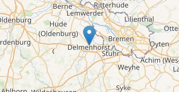 Map Delmenhorst