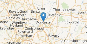 Map Doncaster