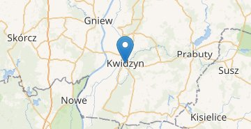Map Kwidzyn