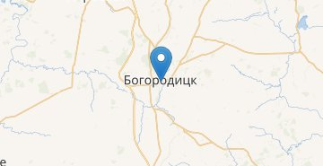 Map Bogoroditsk