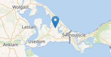 Map Usedom