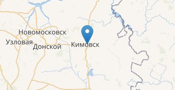 Map Kimovsk