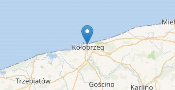 Map Kolobrzeg