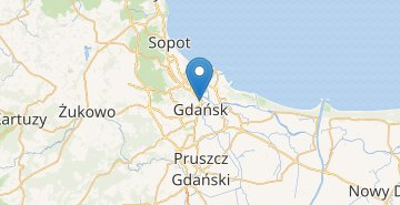 Map Gdansk