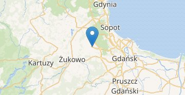 Map Gdansk Airport