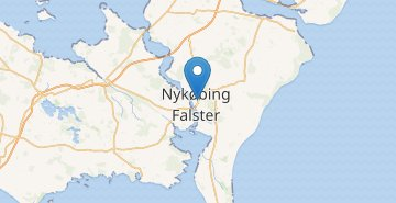 Map Nykobing Falster
