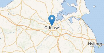 Map Odense
