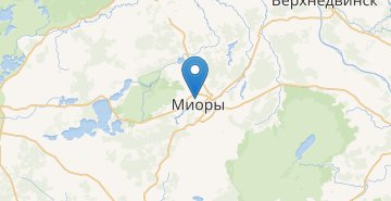 Map Miory