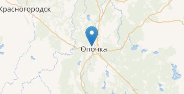 Map Opochka