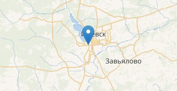 Map Izhevsk