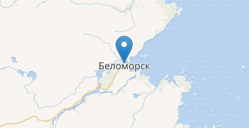 Map Belomorsk
